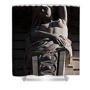 Female Sculpture Shower Curtain