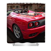 Ferrari 360 Spider Shower Curtain
