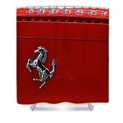 Ferrari Horse Shower Curtain