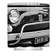 Fiat 500 L Front End Shower Curtain