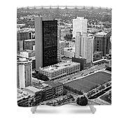 Fiberglass Tower Toledo Ohio Shower Curtain