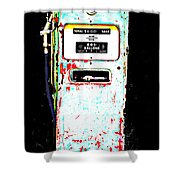 Fill'r Up Shower Curtain