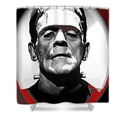Film Homage Boris Karloff The Bride Of Frankenstein 1935 Publicity Photo 1935-2012 Shower Curtain