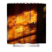 Film Noir Fritz Lang Michael Redgrave Secret Beyond The Door 1948 2 Casa Grande Arizona 2004 Shower Curtain