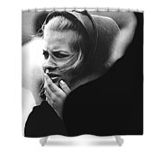 Film Noir Pat O'brien Crack-up 1946 Extra Funeral Young Billy Young Old Tucson Arizona 1968 Shower Curtain