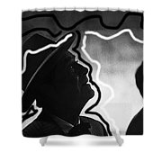 Film Noir Robert Taylor High Wall 1947 Death Valley Days Old Tucson Arizona 1967 Shower Curtain