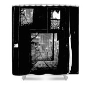 Film Noir Signe Hasso Lloyd Nolan House On 92nd Street 1945 Collage Antlers Hotel Victor Co 1971-'10 Shower Curtain