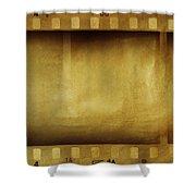 Film Strips Shower Curtain