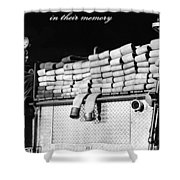 In Their Memory Shower Curtain