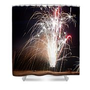 Fireworks 9 Shower Curtain