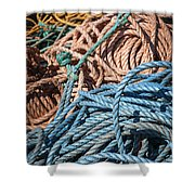 Fishing Ropes Shower Curtain