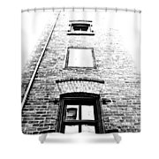 Floating Rooms Shower Curtain