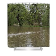 Flooded Park Shower Curtain
