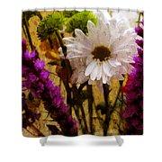 Floral Art IIi Shower Curtain
