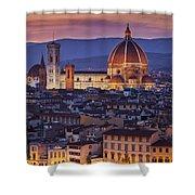 Florence Duomo Shower Curtain by Brian Jannsen