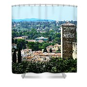 Florence Landscape Shower Curtain
