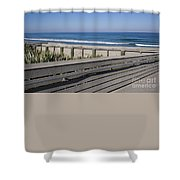 Florida At Melbourne Beach Shower Curtain