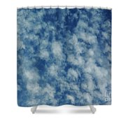 Florida Clouds Above Shower Curtain
