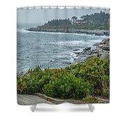Foggy Coast Shower Curtain