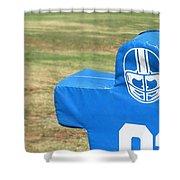 Football Dummy Shower Curtain
