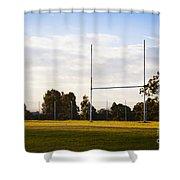 Football Goals Shower Curtain