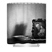 For Better For Worse Shower Curtain