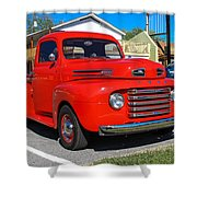 Ford Truck Shower Curtain