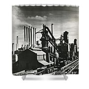 Ford's River Rouge Plant Shower Curtain