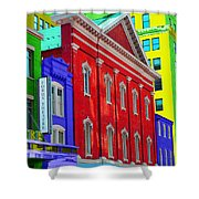 Fords Theatre Shower Curtain