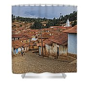 forgotten village Totora Shower Curtain