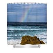 Fort Bragg Skies Shower Curtain