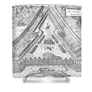 Fort Caroline, 1564 Shower Curtain