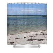 Fort Desoto Beach Shower Curtain