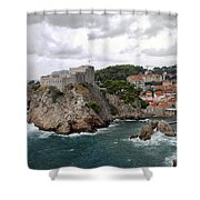 Fort Lovrijenac - Dubrovnik - Croatia Shower Curtain