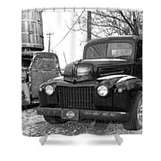 Forties Ford Pickup Shower Curtain