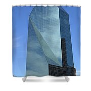 Fountain Place Building Shower Curtain