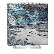 Fox Glacier Shower Curtain