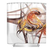 Fractal 066 Shower Curtain