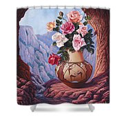 Fragrance And Dew Shower Curtain