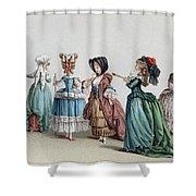 France Fashion, C1730 Shower Curtain