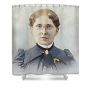 Frances Elizabeth Willard (1839-1898) Shower Curtain
