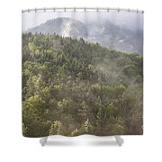 Franconia Notch State Park - White Mountains Nh Usa Shower Curtain