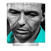 Frank Sinatra Art Shower Curtain