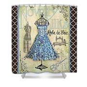 French Dress Shop-b1 Shower Curtain