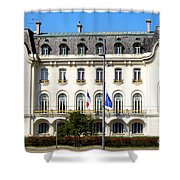 French Embassy In Vienna Shower Curtain