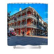 French Quarter Afternoon Shower Curtain