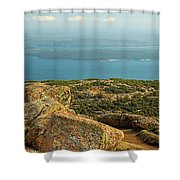 Frenchman's Bay From Cadillac Mountain Shower Curtain