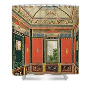 Fresco Decoration In The Summer House Shower Curtain