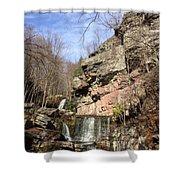 Fresh Water Streams Around Poconos Pa America Usa  Shower Curtain