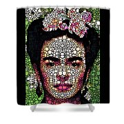 Frida Kahlo Art - Define Beauty Shower Curtain